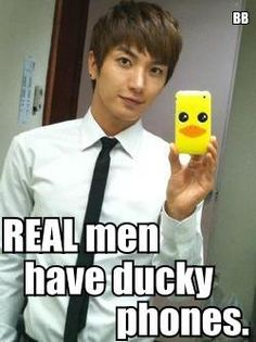 Leeteuk #superjunior THAT'S RIGHT! Ain't nobody messing with my boys! My men!