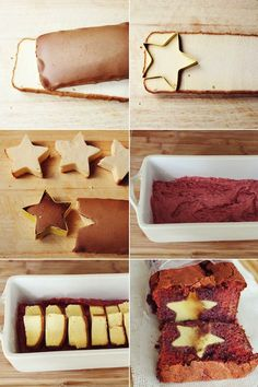 30 Surprise-Inside Cake & Treat Ideas!! These are great ideas! I think I would put a pound cake star or heart inside a banana bread.... or pumpkin bread! How fun!