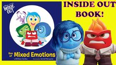 INSIDE OUT BOOK from the Disney Pixar Movie - MIXED EMOTIONS - with Sadn...