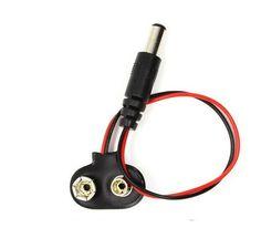 10//20//50pcs 9V DCBattery Power Cable Plug Clip barrel jack connector Arduino DIY