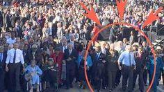 Shameful Media Bias: New York Times Crops George W. Bush Out of Selma Celebration Photo 3/9/15