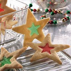 I always thought these festive, candy-filled cookies were hard to make until Grandma showed me how easy they were.