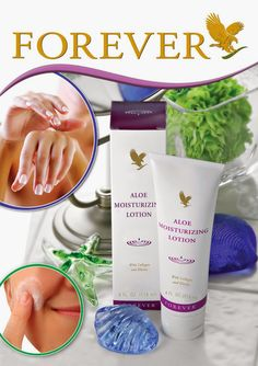 Aloe Moisturizing Lotion. Buy yours at Forever Living Aloe Vera Products :http://www.be-forever.de/aloevera-wellness-shop/