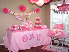 Loved her 1st birthday theme!!