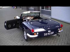 Triumph Spitfire mkIII 1967 wire wheels very good condition -VIDEO- www.ERclassics.com - YouTube