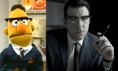 Zachary Quinto is a sexy Bert.