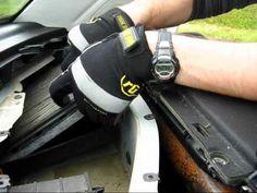 Cabin air filter replacement- Volkswagen Beetle