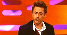 Robert Downey Jr. and that eyebrow thing he does.  (On the Graham Norton Show...).
