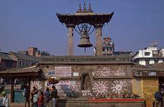 NP183125 Nepal Patanin Durbar Square 1995 Bhutan, San Francisco Ferry, Nepal, Building, Travel, Viajes, Buildings, Destinations, Traveling