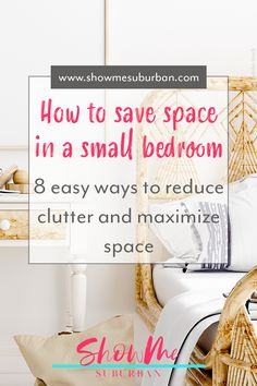 I needed some tips and ideas for how to save space in my small bedroom. This article gave me so much info on tiny bedroom storage and organization hacks! It really helped me maximize the space in my room. Under Bed Organization, Small Bedroom Organization, Under Bed Storage, Organization Hacks, Organizing, Tiny Bedroom Storage, Small Bedroom Hacks, Bedroom Ideas, Extra Storage Space