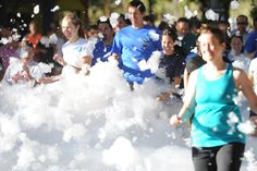 5K Foam Fest! I love doing races like this and this one is on my list for next summer!!!