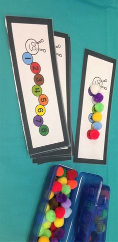 Math activity for kids with autism.
