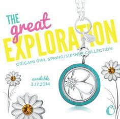 The new spring line is available March 17th. Look for a lot more color.... and a new earring collection!