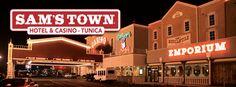 Sam's Town Tunica Casino & Hotel  www.samstowntunica.com