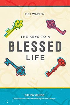 The Keys to a Blessed Life Study Guide by Rick Warren http://www.amazon.com/dp/1422803341/ref=cm_sw_r_pi_dp_1aACwb1G2E14G