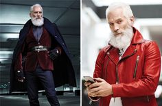 Some men are like wine - they get better with age. Bored Panda collected a list of handsome guys over or just under 50 years old that will redefine your Fashion For Men Over 60, Old Man Fashion, Men Over 50, Mens Fashion, Older Male Models, Male Model Photos, Nick Wooster, Handsome Older Men, Beard Styles For Men