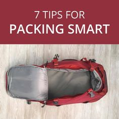 Traveling light means packing smart. Here are 7 tips to help you pack for your next trip. Travel Light, Travel Posters, Travel Tips, Travel Photography, Traveling, Packing, Inspiration, Viajes