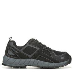 Caterpillar Men's Gain Medium/Wide Steel Toe Work Sneakers (Black) - 11.0 W