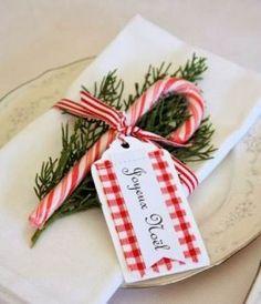 Ideas para decorar mesas navideñas                                                                                                                                                                                 Más