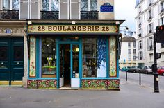 Traditional French Bakery ~ Paris