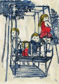 Kanako Ogawa : get on a swing