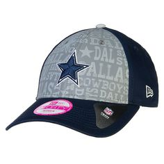 low priced 926f2 7a7bb Dallas Cowboys Reflective New Era 2014 Ladies Draft Cap