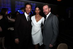 Matthew McConaughey,  Camila Alves and  Bryan Cranston attend the 30th Annual Television Critics Association Awards at The Beverly Hilton Hotel on July 19, 2014 in Beverly Hills, California