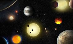 The universe is expanding significantly more quickly than previously thought. That is the discovery made by NASA this week after gathering data from the space agency's Hubble Space Telescope. Hubble showed the universe is expanding five to nine per . Dwarf Planet, Alien Planet, New Planet Discovered, Super Terra, Cosmos, Super Earth, Les Satellites, All Planets, Hubble Space Telescope