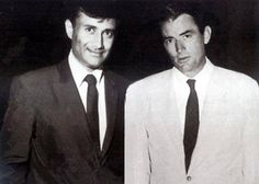 #Hollywood actor Gregory Peck & Bollywood heartthrob #DevAnand...Both shared a very close resemblance. It is also said that Dev Anand used to model himself on #GregoryPeck to impress Suraiya because she was a big fan of Gregory while our Dev was in love with Suraiya.
