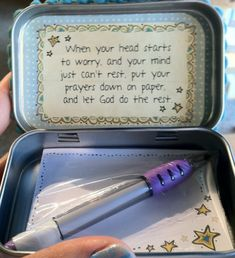The youth group should make these for the people of the church!!