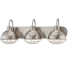 Schooner Bath Light 2 Light Bath light Vanities and Industrial