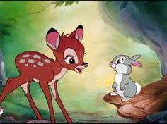 """If your scared just be scarier then what's scaring you."" - Thumper"