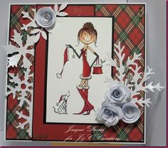 penny black cards using clear stamps - Google Search