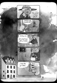beautifully-done comic by Ryan Andrews