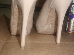 Glitter the bottom of your heels!