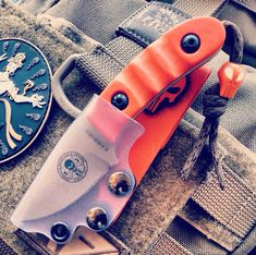 Clear kydex knife sheath ESEE