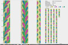 6 around bead crochet pattern. Crochet et compagnie: Schémas Crochet Bracelet Pattern, Crochet Beaded Bracelets, Bead Crochet Patterns, Bead Crochet Rope, Peyote Patterns, Beaded Bracelet Patterns, Jewelry Patterns, Beading Patterns, Crochet Necklace