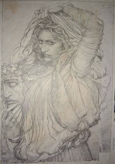 Medusa, in Rob  Pistella's Sold or Traded Comic Art Gallery Room
