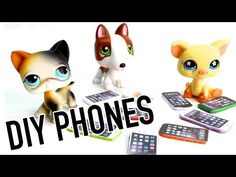 Miniature Apple IPhone Tutorial - DIY Cell Phone for LPS and Dolls - YouTube
