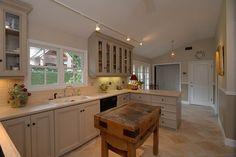 Fab white kitchen.