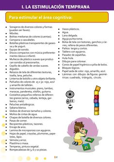Early stimulation instructions for the moderator, Sensory Activities, Infant Activities, Montessori, Mindfulness For Kids, English Activities, Baby Health, Baby Development, Kids Education, Funny Kids