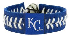 Kansas City Royals Baseball Bracelet - Team Color Style