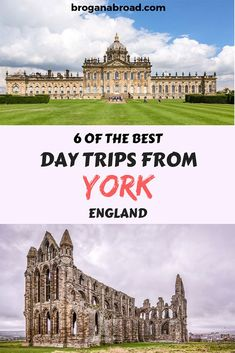 6 Of The Best Day Trips From York, England - Brogan Abroad Here are some of the best York day trips you can do, which include spectacular countryside with plenty of cute villages, stately homes and the coast. Backpacking Europe, Europe Travel Tips, European Travel, Travel Guides, Travel Destinations, Travelling Europe, Travel Uk, Traveling Tips, Travel Articles