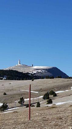 le sommet depuis le haut du chalet Reynard