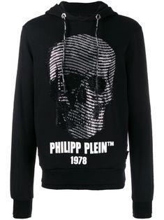 Philipp Plein Wavy Skull Hoodie In Black Philipp Plein T Shirt, Nike Mens Shirts, Mens Designer Hoodies, Philip Plein, Skull Hoodie, Skull Print, Black Hoodie, Size Clothing, Outfits
