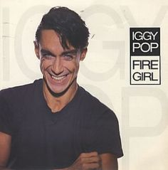 Iggy Pop - Fire Girl / Blah Blah Blah  - album cover