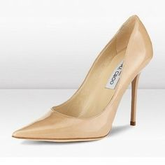 9a4bd75d3b84 Nude Patent Leather Jimmy Choo Anouk 120mm