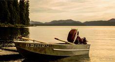 Canoeing to a campsite on Priest Lake was so fun
