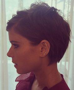 Kate Mara New Pixie Haircut