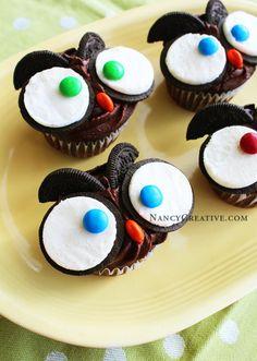 Owl Cupcakes Tutorial